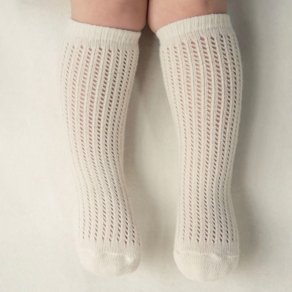 Angel Lace Socks - Oatmeal