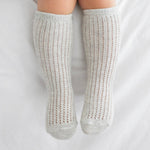 Angel Lace Socks - Grey