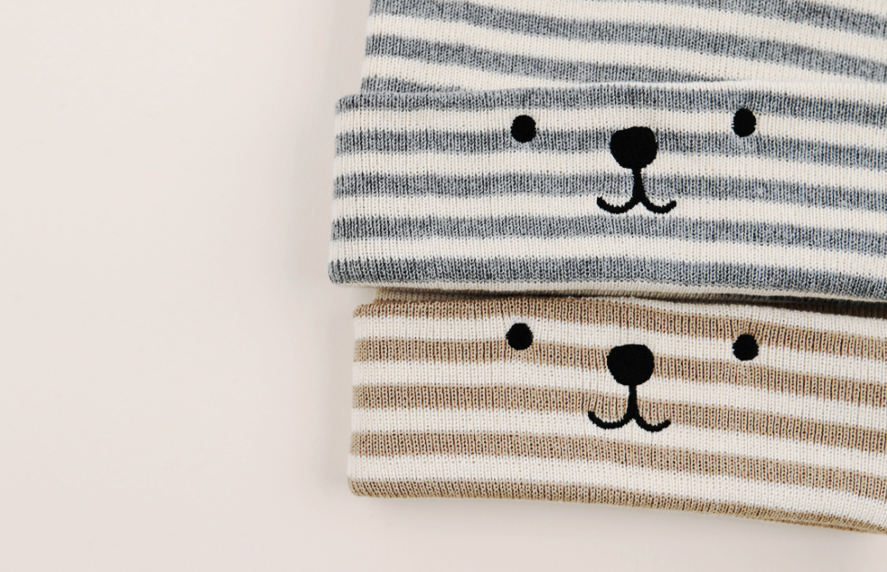 Bear Crew Beanie - Stripes