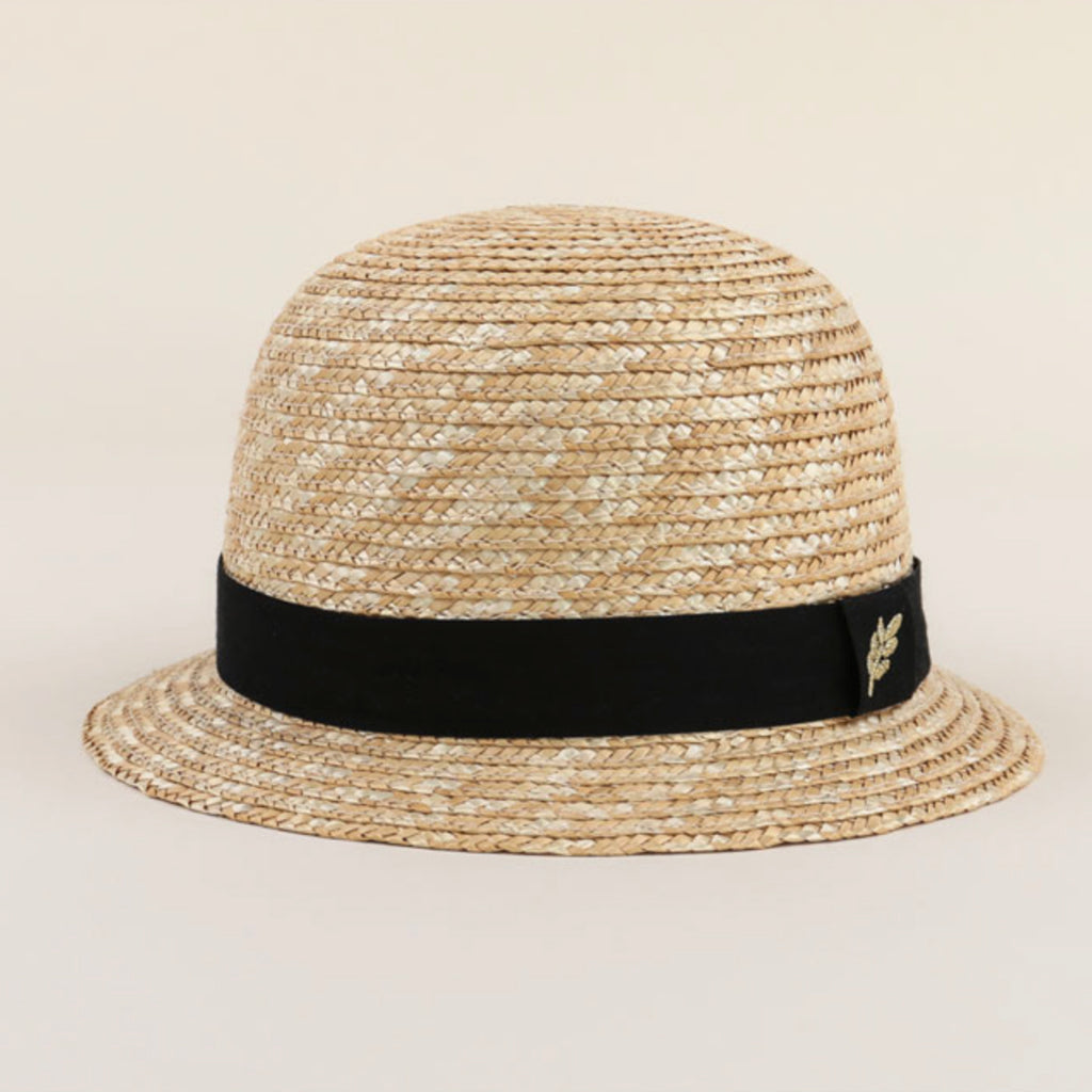 Leaf Straw Fedora
