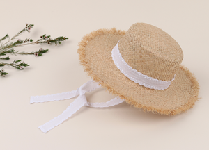 Straw Lace Sunhat