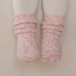 Cotton Heather Socks - Warming Pink