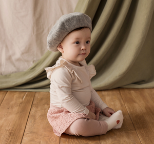 Blooming Wool Beret