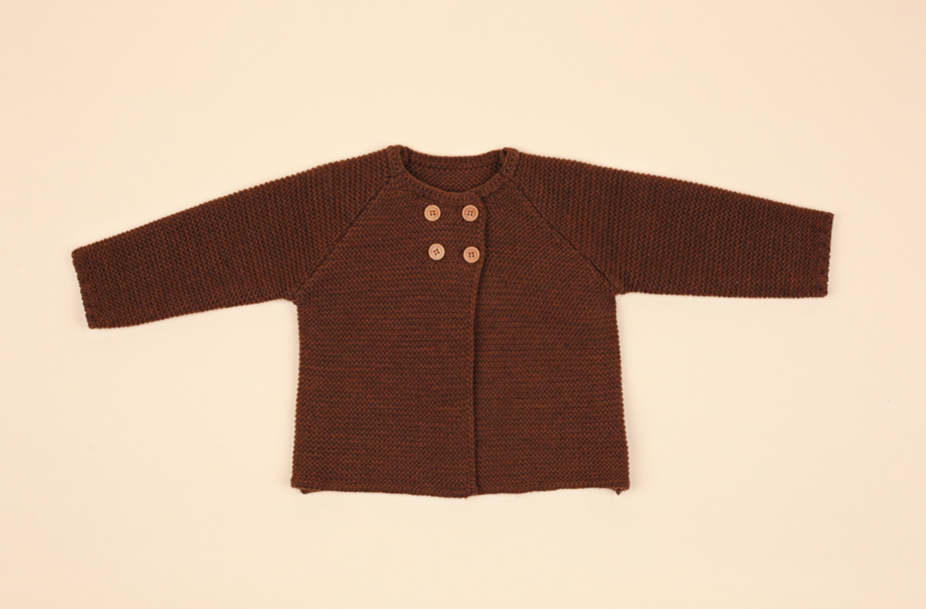 Terra Knit Cardigan - Coffee