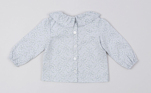 Morning Flower Collar Blouse