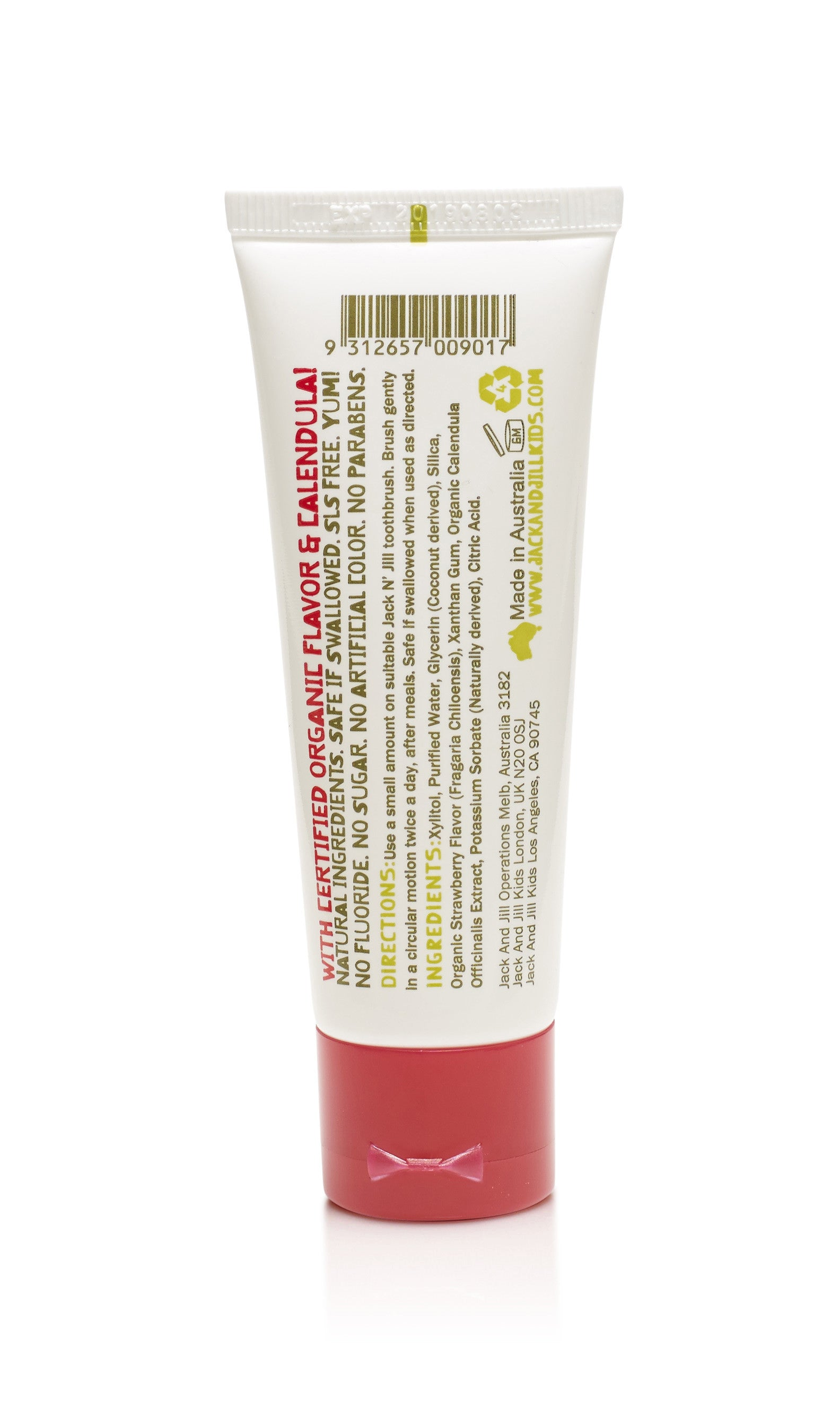Jack N' Jill - Natural Toothpaste Strawberry