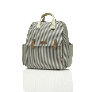 BabyMel - Robyn 4-Way Stripes Diaperbag