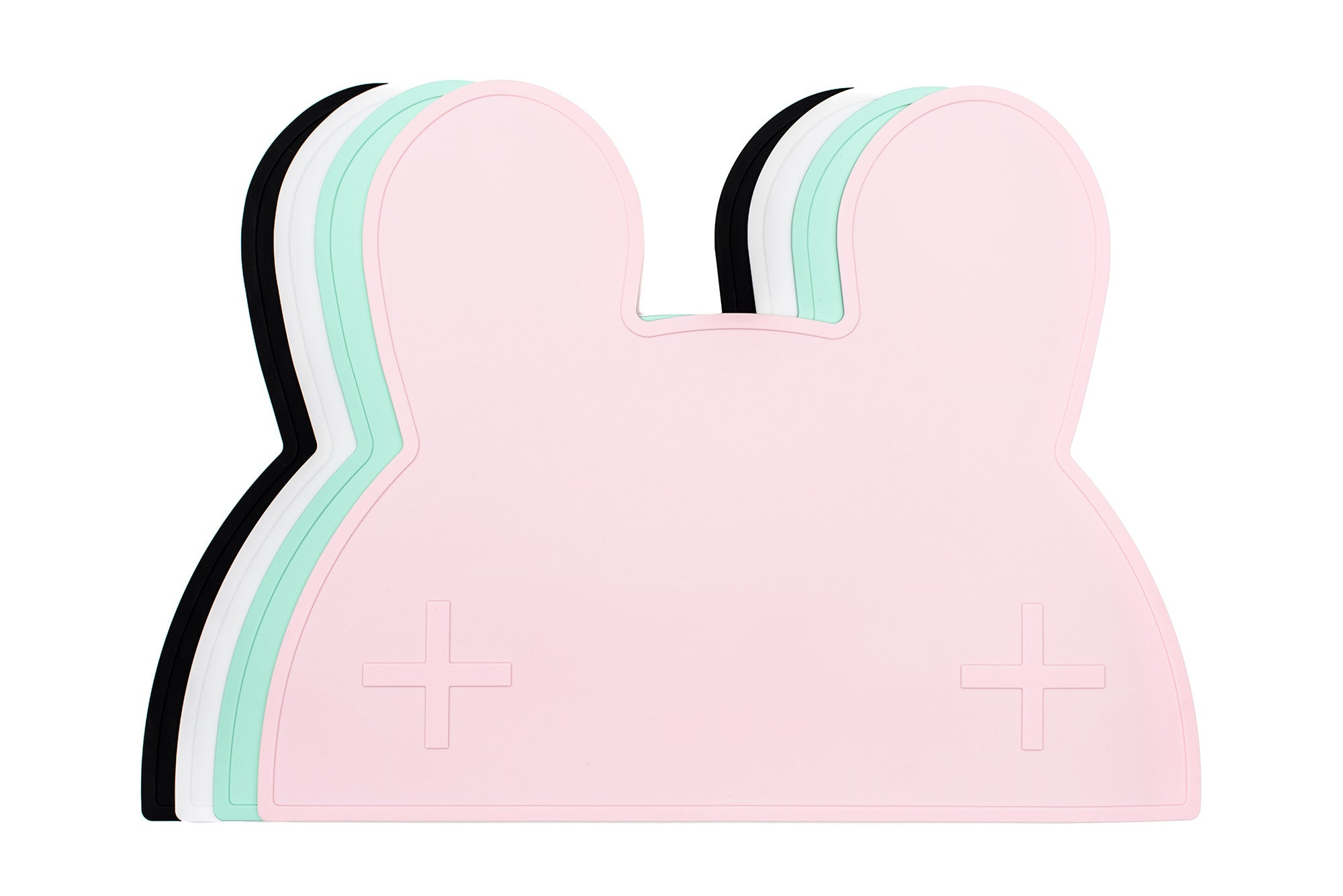 We Might Be Tiny - Bunny Silicone Placie - Powder Pink