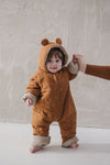 Fin and Vince - Bear Suit (Wheat)