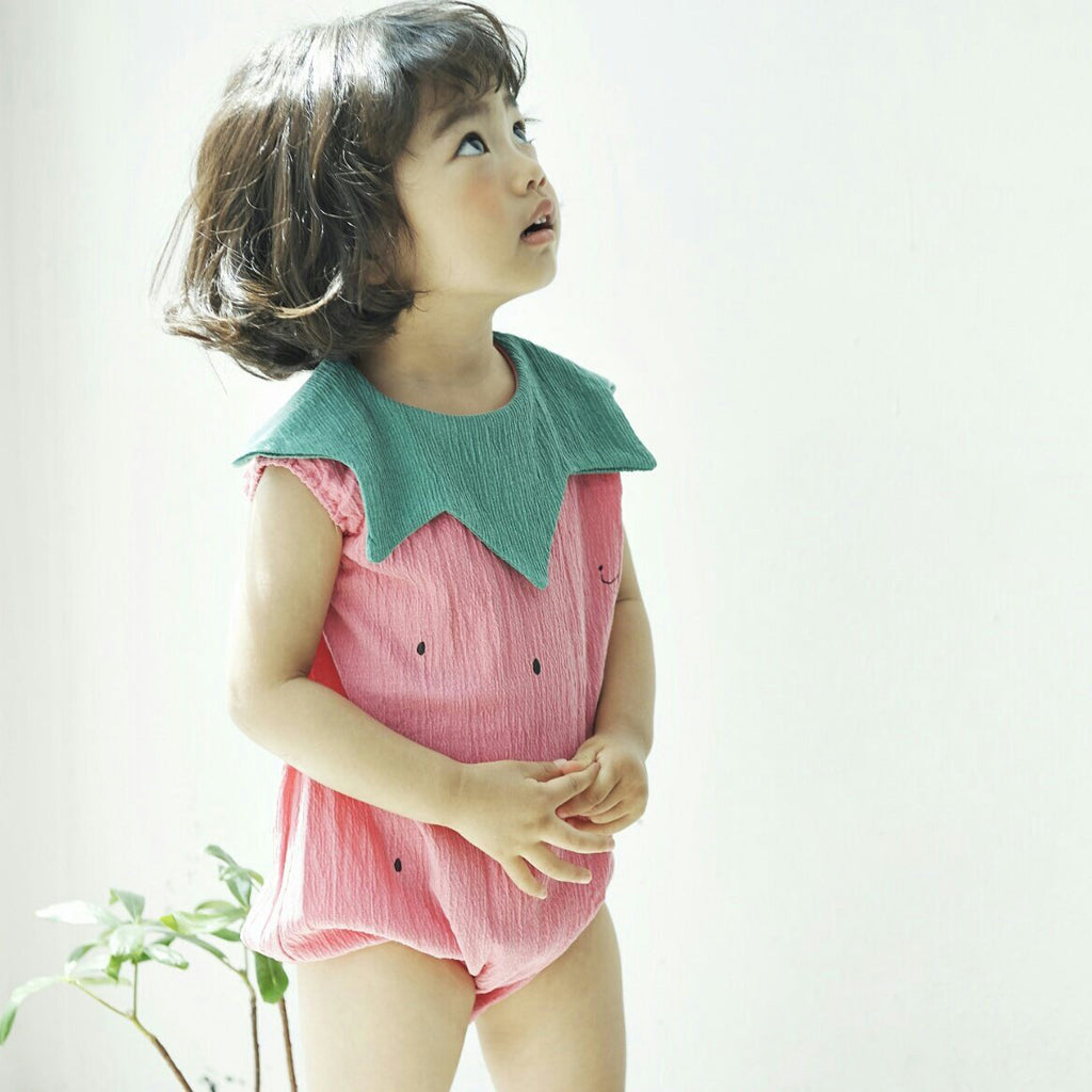Strawberry Bubble Onesie