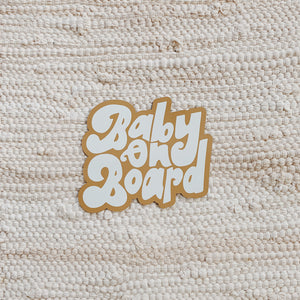 Baby on Board - Car Magnet