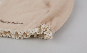 Organic Sugar Lace Bonnet
