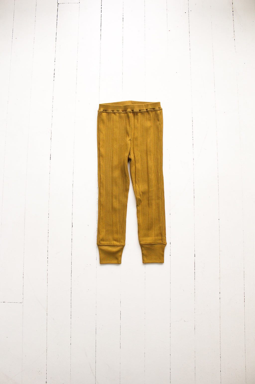 Fin and Vince - Drop Needle Pant (Mustard)