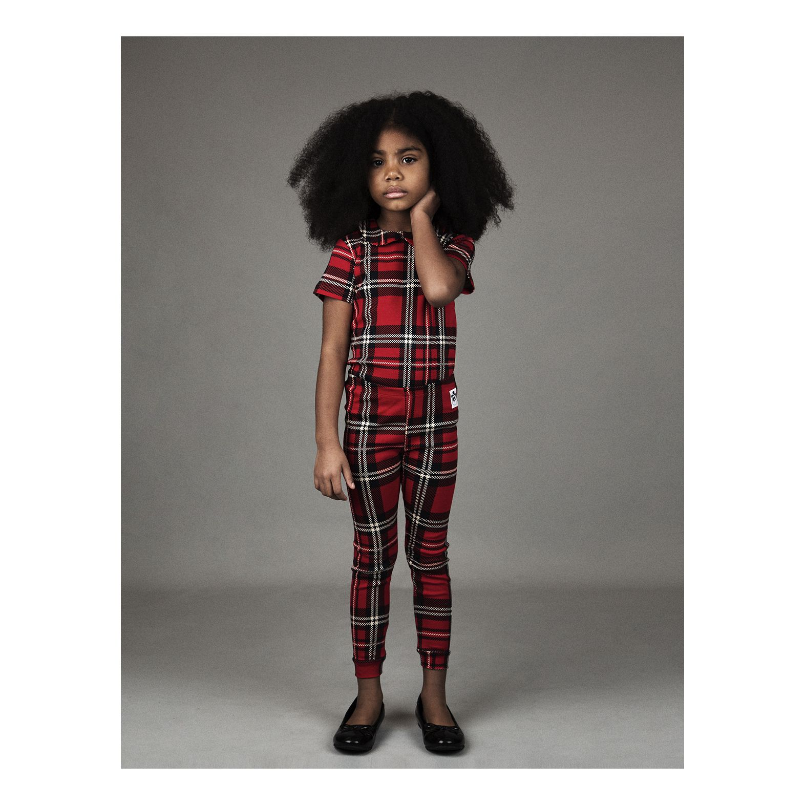 Mini Rodini - Check Leggings