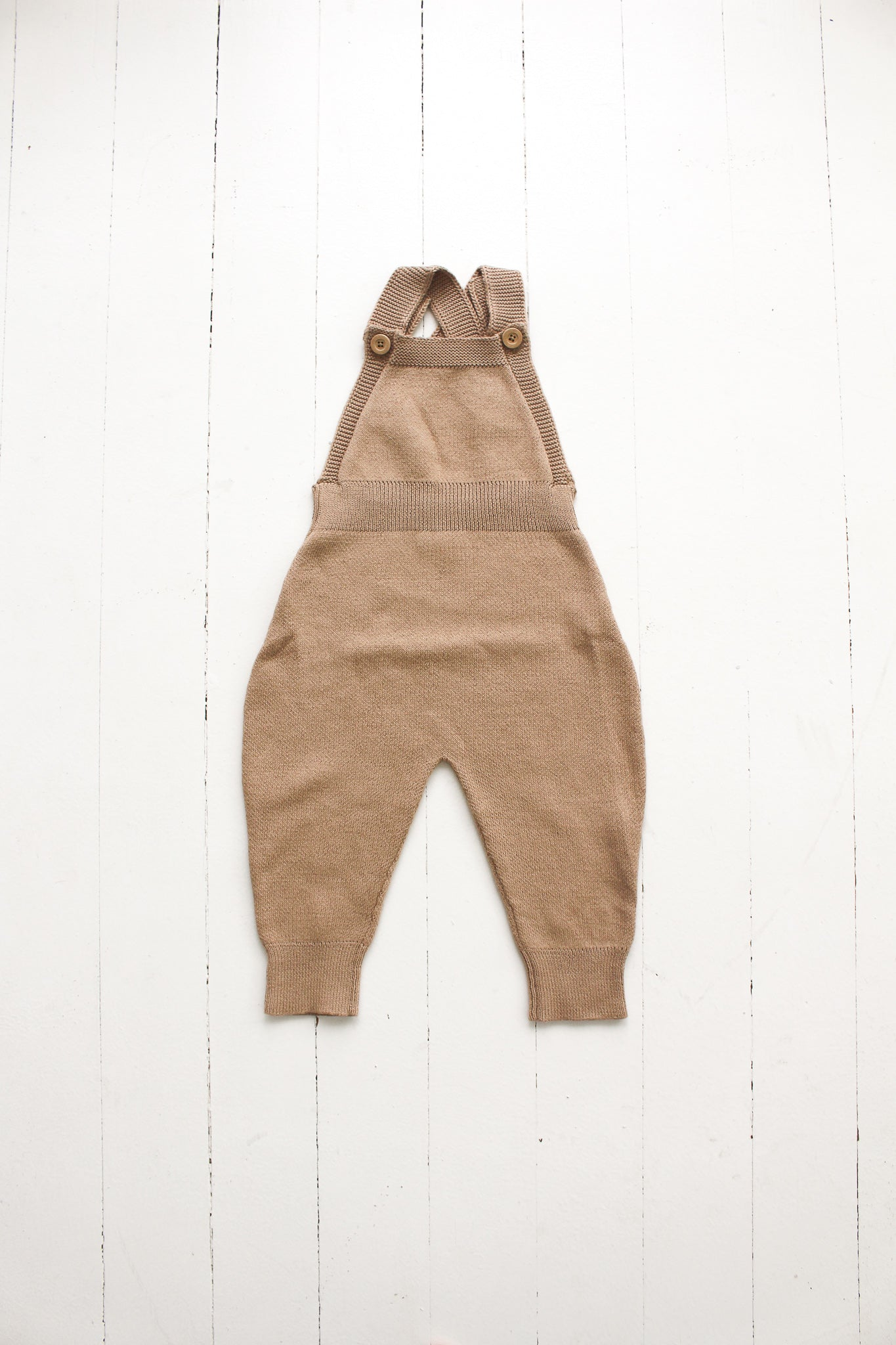 Fin and Vince - Knit Overall (Toasted Almond)