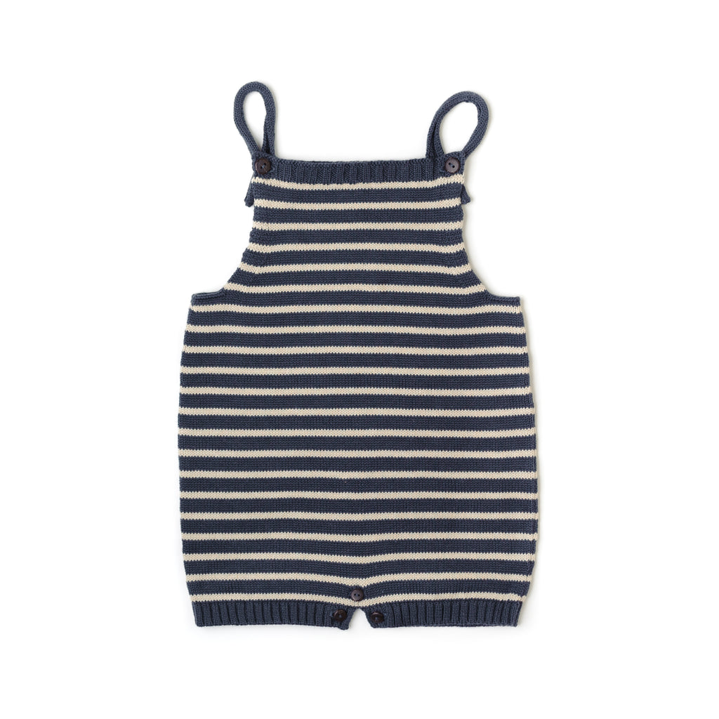 Fin and Vince - Knit Overall (Night Blue) - Last 0/3