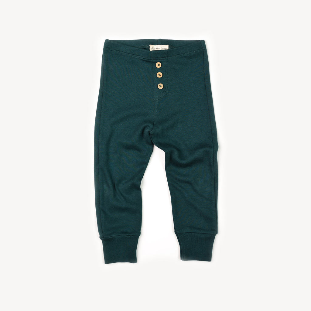 Fin and Vince - Button Pant (Forest)