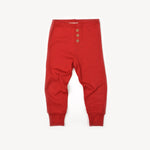 Fin and Vince - Button Pant (Crimson)