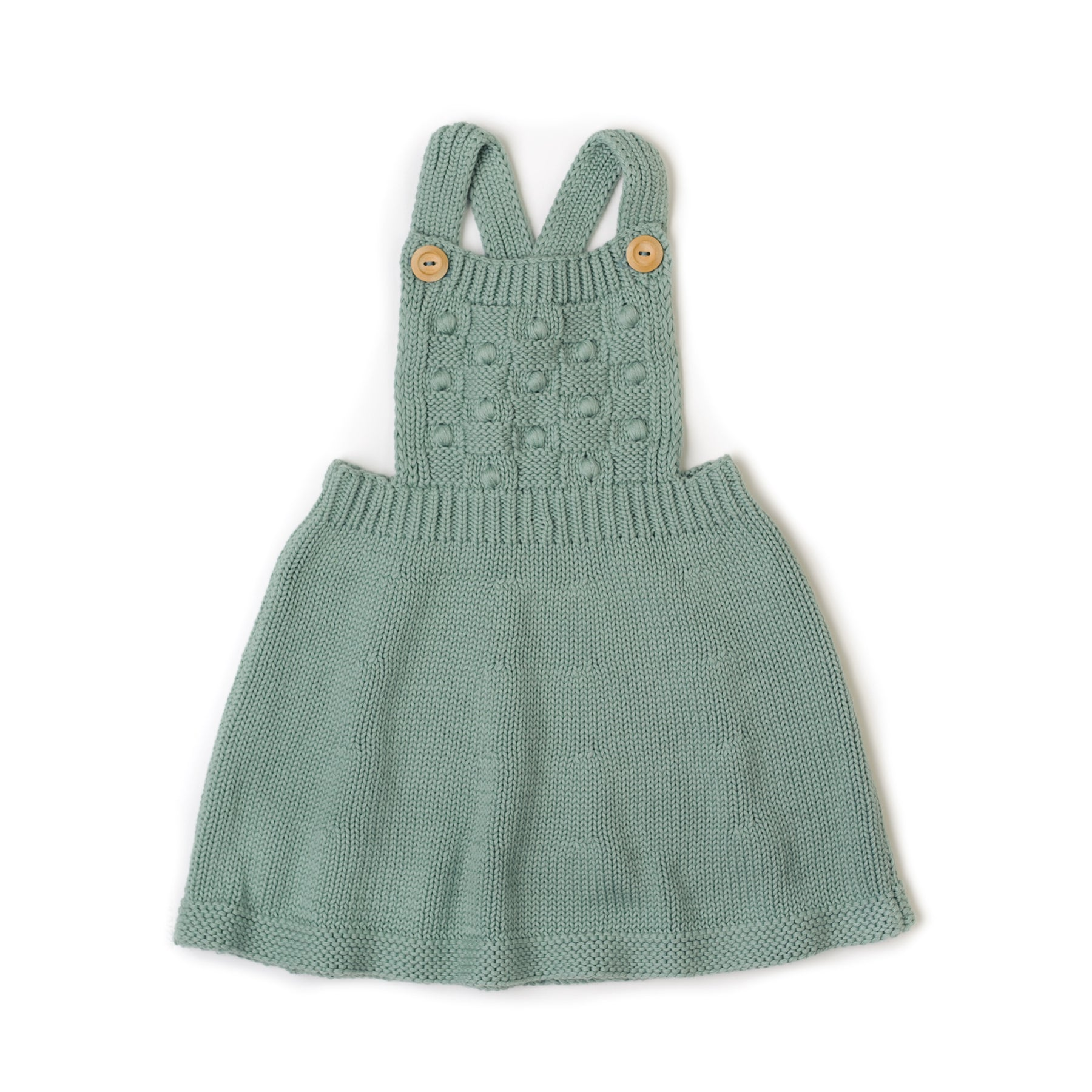 Fin and Vince - Knit Dress (Moss) - Last 2/3