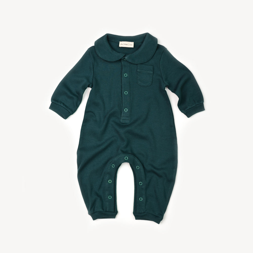 Fin and Vince - Cozy One-Piece (Forest)