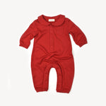 Fin and Vince - Cozy One-Piece (Crimson) - Only 0/3 & 2/3