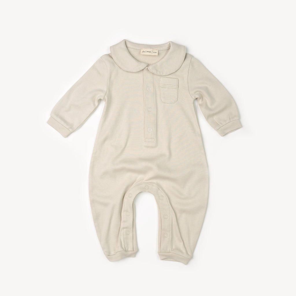 Fin and Vince - Cozy One-Piece (Oatmeal) - 12/24 Last