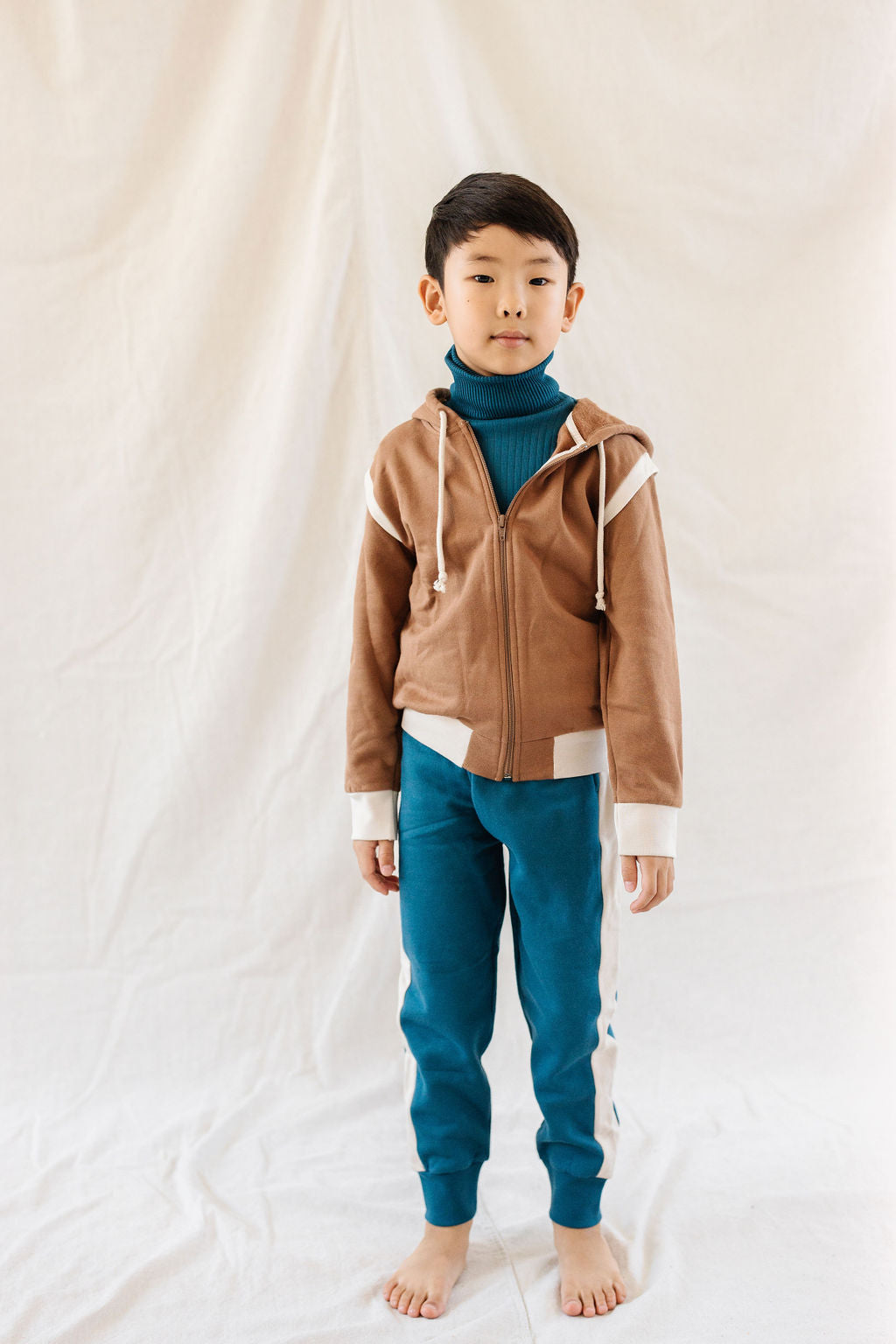 Fin and Vince - Fleece Jacket (Cinnamon) - Only 6/12 & 2/3