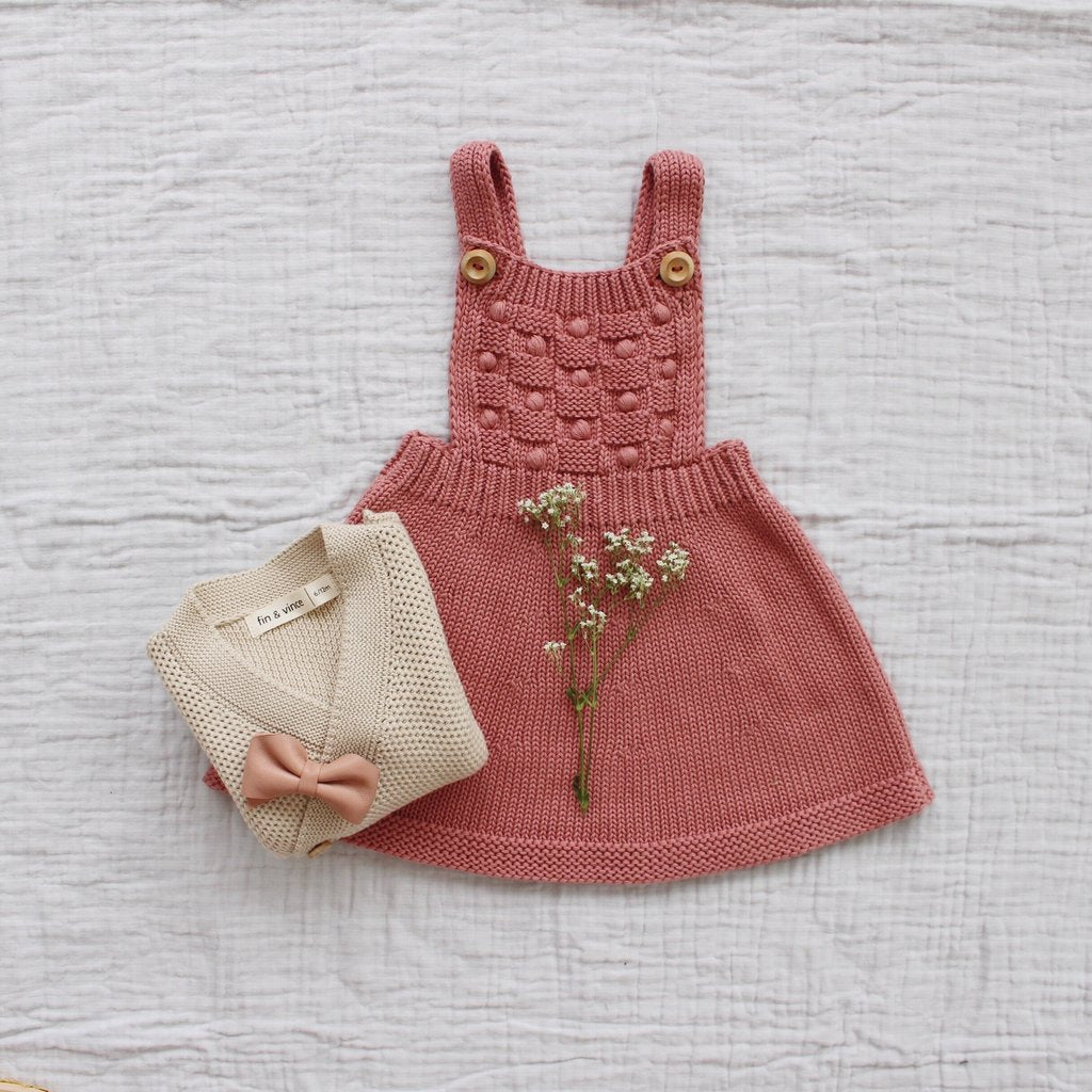 Fin and Vince - Knit Dress (Dusty Rose)