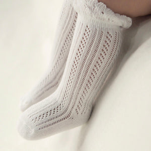 Lace & Frill Cloud Socks