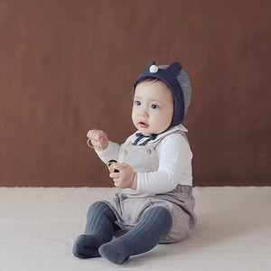 Bentley Herringbone Overalls - Caramel