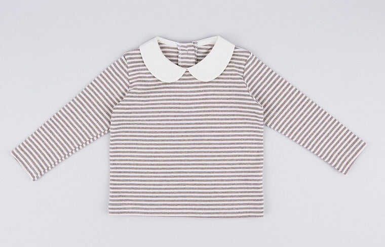 Peterpan Natural Stripe Tee