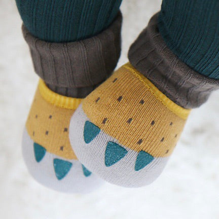 Double Paw Socks - Buttercup