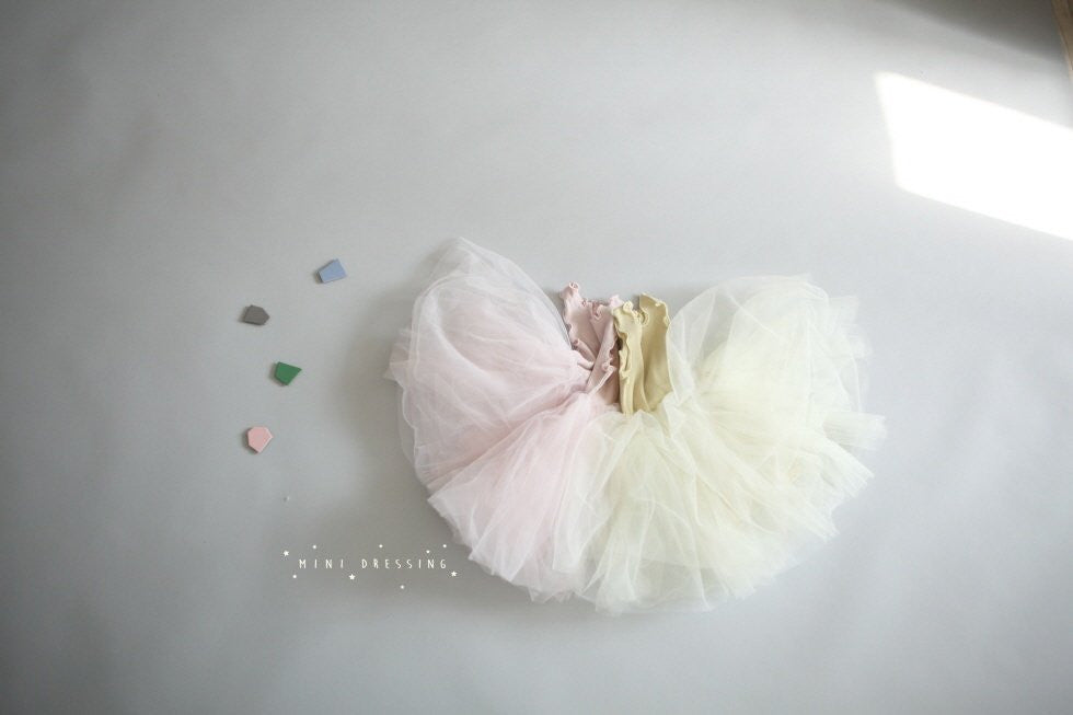 Etoile Tulle Dress - Lemonade