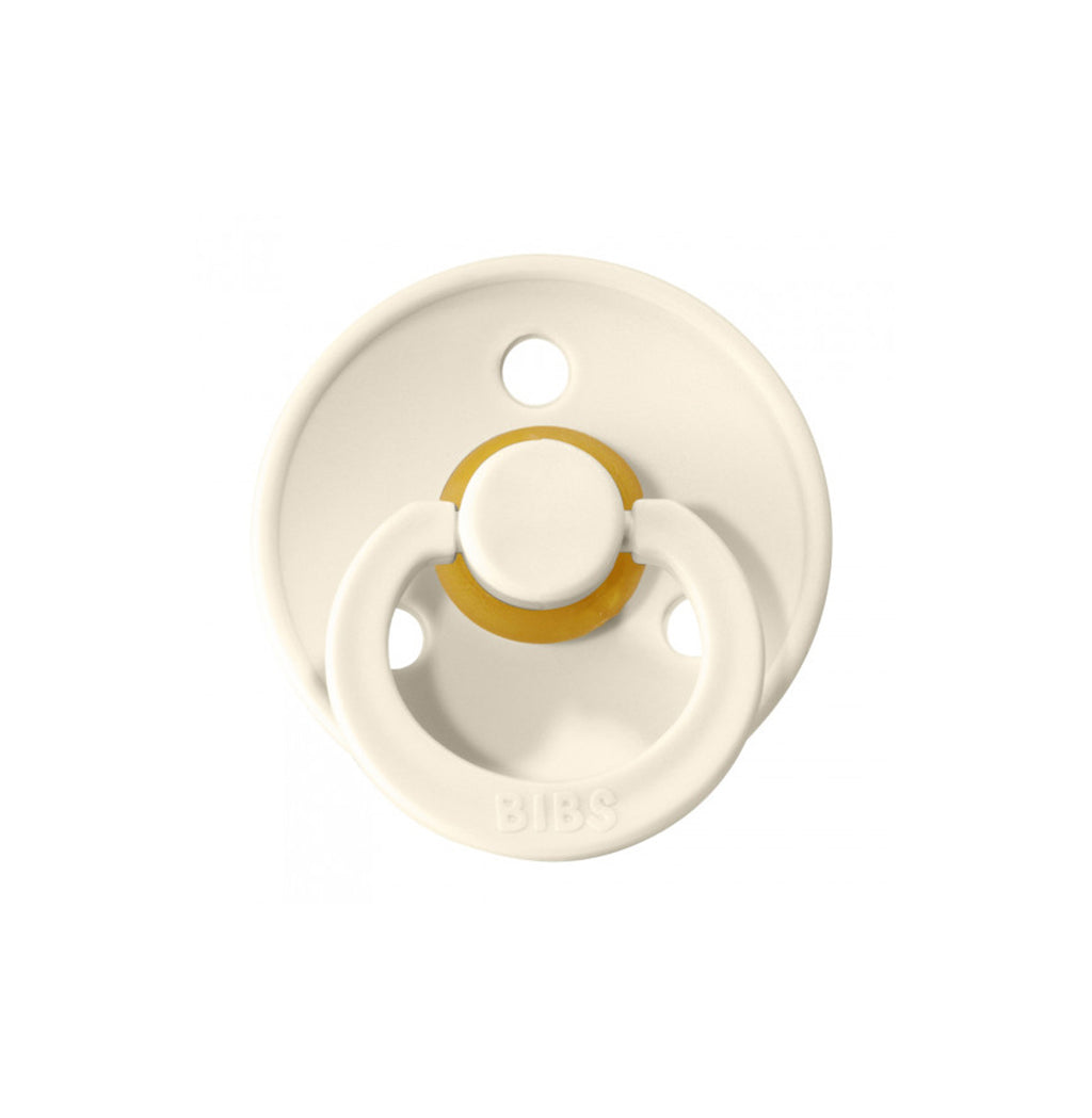 BIBS Pacifier - Ivory (Set of 2)