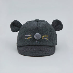 Mouseketeer Charcoal Cap