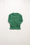 Fin and Vince - Long Sleeve Snap Top (Schoolhouse Green) - Only 3/6 & 6/12