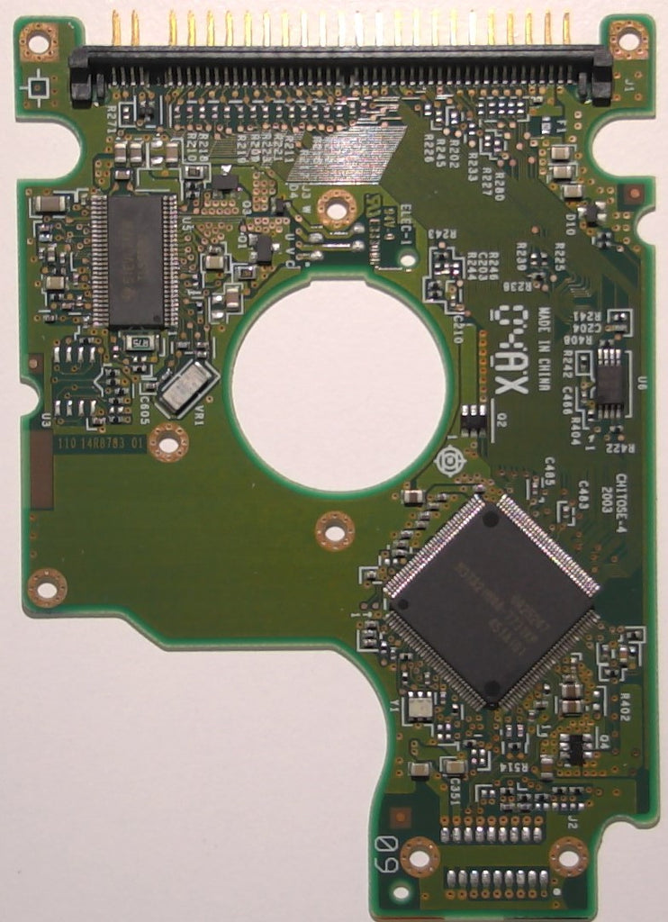 "Hitachi HTS5424040M9AT00, 13G1132, DA1091, 110 14R8783 01, 2.5"" IDE PCB"