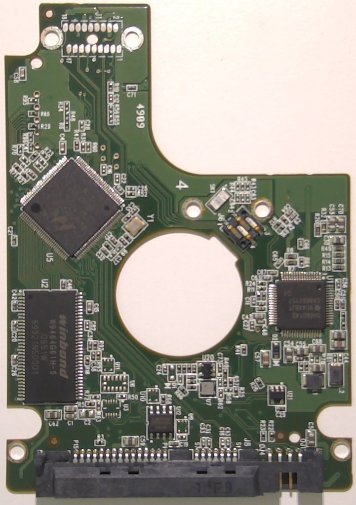 "Western Digital WD5000BEVT-22A0RT0, 2060-771672-001 REV P1, 500GB, 2.5"" SATA PCB"