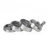 Crank Grinder 4 Piece Large Silver - Friends in High Places