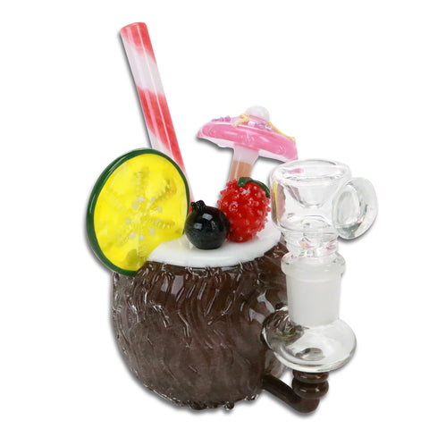 Coconut Pina Colada Bubbler - Friends in High Places