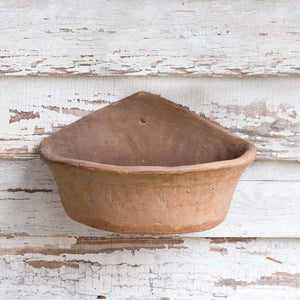 [shop name]|Large Terra Cotta Wall Planter:Pots & Planters