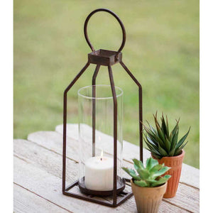 [shop name]:Greenville Pillar Candle Lantern,Small