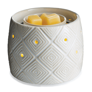 [shop name]|Fan Fragrance Candle Warmer- Geometric Illuminaire: