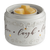 Fan Fragrance Candle Warmer- Live Laugh Love Illuminaire:Candles & Accessories