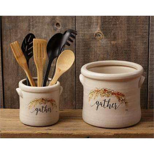 [shop name]|Gather Ceramic Crock Set:Kitchen Decor & Accessories