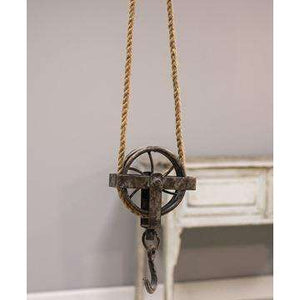 [shop name]|Jute Rope Pulley:Other Accent Decor