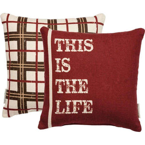 [shop name]|This is The Life- Pillow:Seasonal