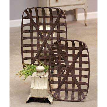 [shop name]|Tobacco Baskets, Set of 2:Other Accent Decor