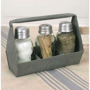 [shop name]|Toolbox Caddy with Toothpick and Salt & Pepper Shakers:Kitchen Decor & Accessories