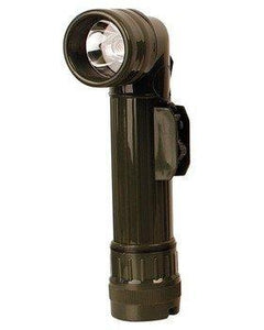 Kombat Angle Torch Olive Green Large (takes 2x D batteries) - Bear Essentials Clothing Company